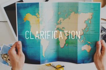 Etape 1 : Clarification
